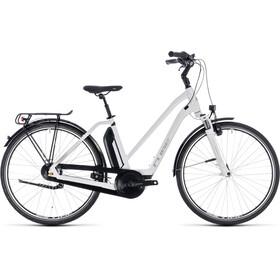 Cube Town Hybrid ONE 400 - Vélo de trekking électrique - Trapez blanc